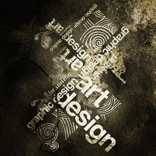 字母艺术大师的tariq超强视觉设计作品推荐