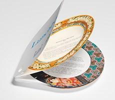 可以作为餐盘的午餐书创意设计