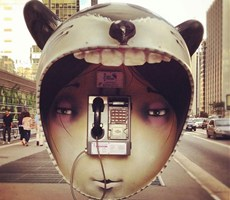 创意电话亭