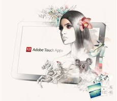 Adobe Touch Apps系列新锐插画广告欣赏