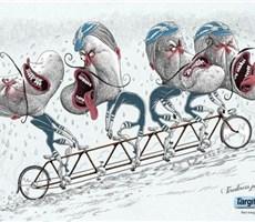 圣诺菲(Targifor)插画广告:饥饿让你跟自己过不去