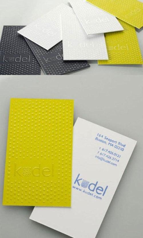 2012立体名片创意设计欣赏