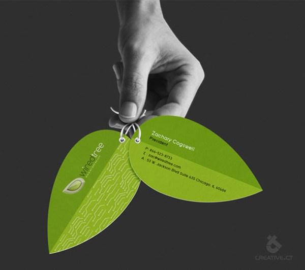 2012下半年最新名片设计汇集