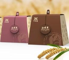 沁州黃產品策劃和包裝設計 蘭旗