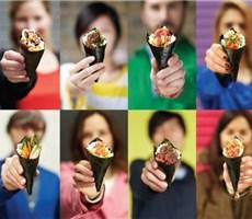 冰淇淋状寿司:寿司店整体形象设计