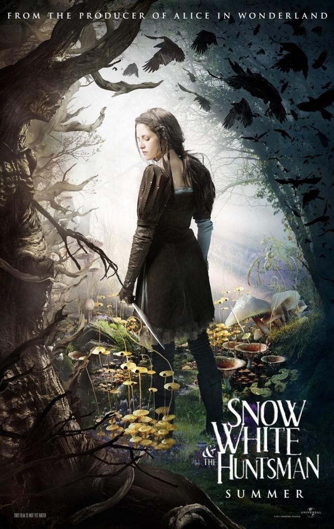 白雪公主与猎人电影海报设计欣赏