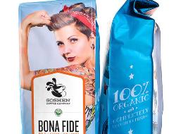 一款國外的咖啡品派包裝