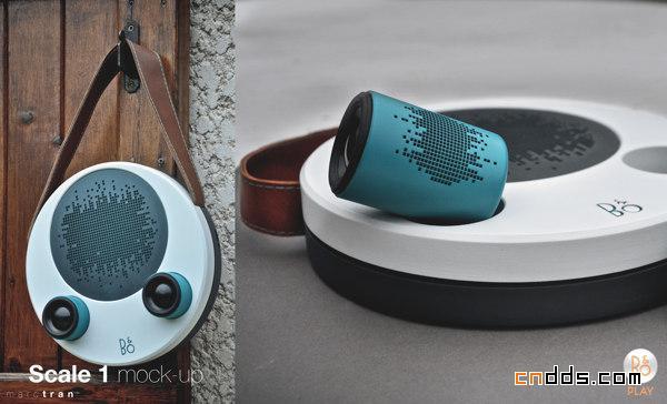 b&o品牌汽车音响播放器设计