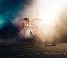 运动广告设计