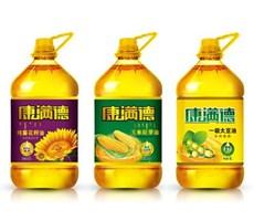 食用油标签及广宣设计