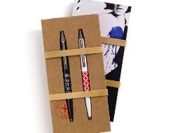 时尚的圆珠笔包装设计