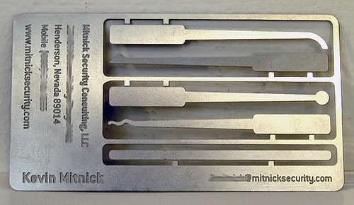 透明材质的名片设计
