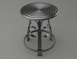重金属工业风格凳子