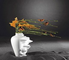 现代时尚的花瓶设计