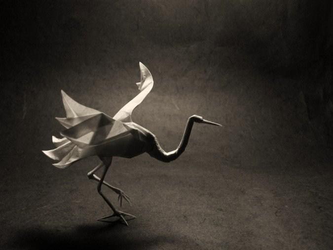 神奇的折纸艺术作品欣赏