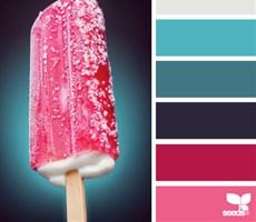 古奥思成网站设计推荐欣赏-图解夏日实用的配色技巧