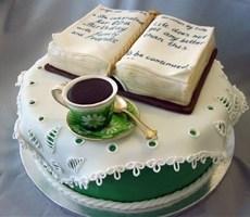 创意书本蛋糕