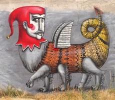 乌克兰街头艺术家Kislow作品欣赏