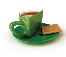 微笑创意表情咖啡