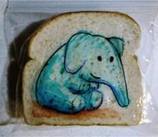 三明治涂鸦