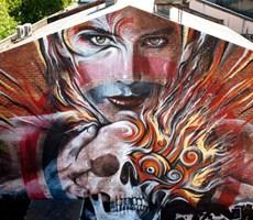 最棒的街头艺术家作品欣赏