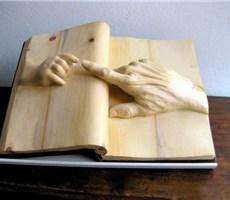 创意木雕书