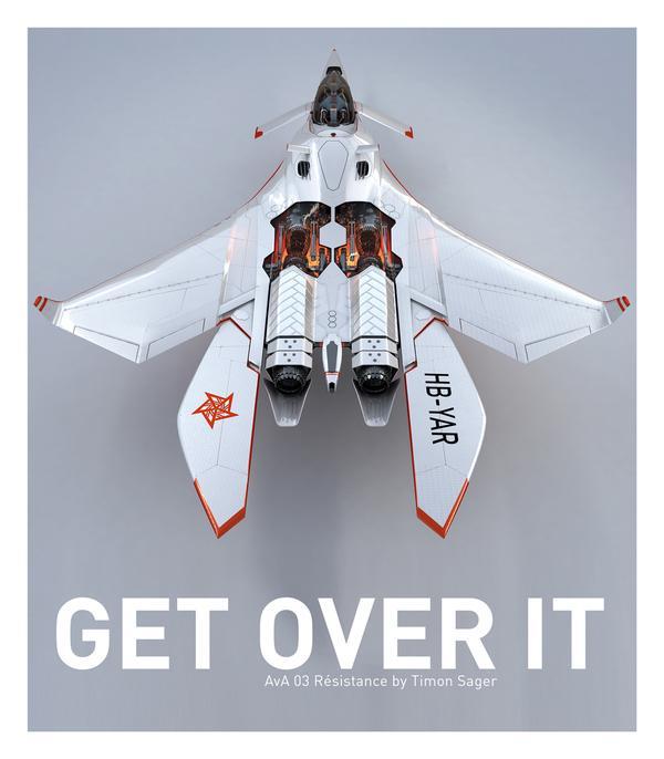 创意阻力飞机概念设计