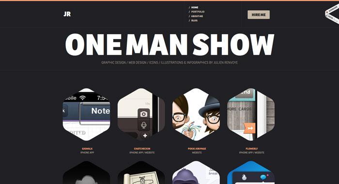 国外创意导航网站界面设计欣赏