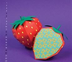2014创意水果日历