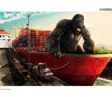 巴拿马运河平面广告