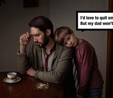 """为了孩子请你""""戒烟"""""""