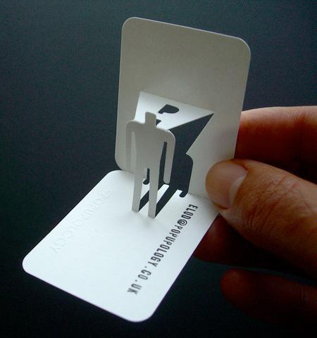 真有创意的3D名片设计