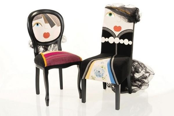 设计师的创意椅子