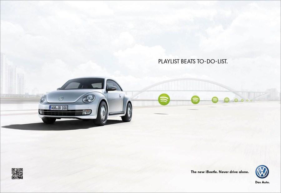 大众汽车创意广告-中国设计网