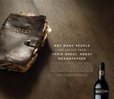 HARDYS第五代红酒创意广告