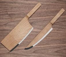 打破常规思维的厨房刀具组合