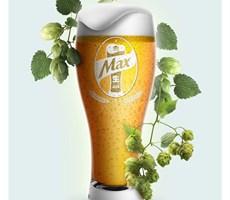 生啤酒品牌设计-韩国品牌HITE MAX