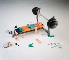 巴西创意广告:你的身体是有极限的