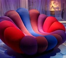 多彩的海葵沙发