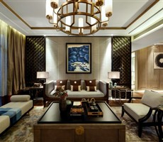 【KSL设计事务所】静语凝思——上海长城珑湾新中式样板房设计