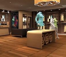 香港&深圳主振国际出品:上海ZD服装专卖店设计,服装空间设计,服装si设计,