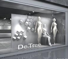 南京地树服装si专卖店设计--主振品牌出品