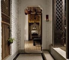 质朴古老的茶餐厅设计