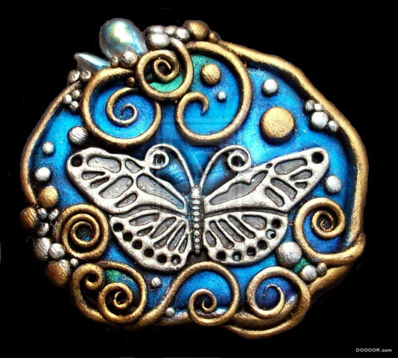 粘土软陶古欧式手工艺品设计制作