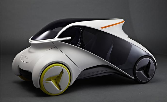 國外流線型新概念電動車設計欣賞