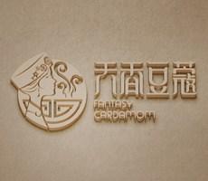 天香豆蔻麻辣烫品牌LOGO设计