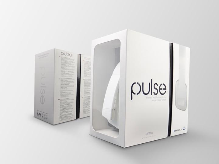 时尚干极强的耳机包装盒设计