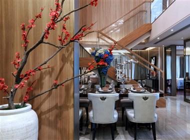 【KSL设计事务所】惠州央筑花园复式洋房样板房设计