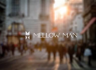 MELLOW MAN原创男装品牌标志设计