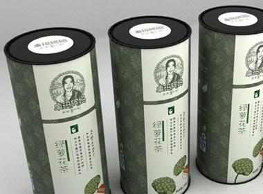 绿萝花包装 曦芝品牌设计 新定位
